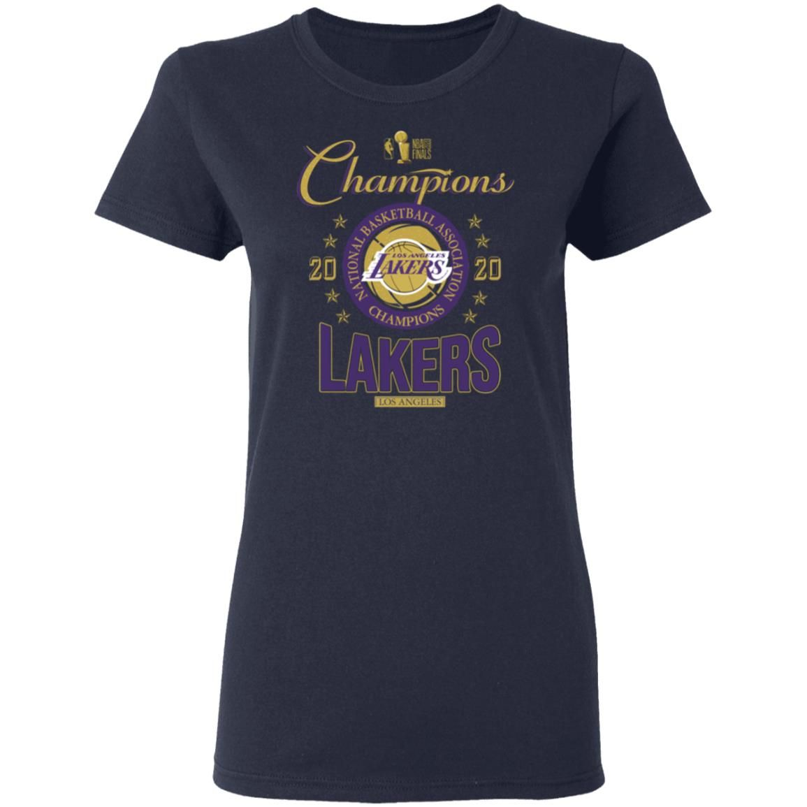 Los Angeles Lakers 2020 NBA Champions Shirt