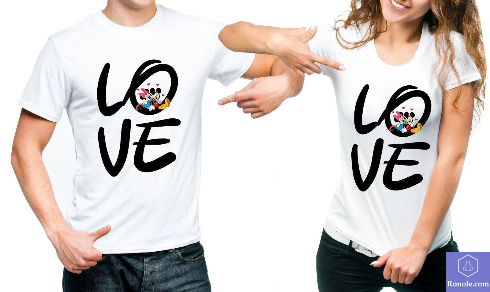Love Couple T-Shirts For Valentine's Day Gift