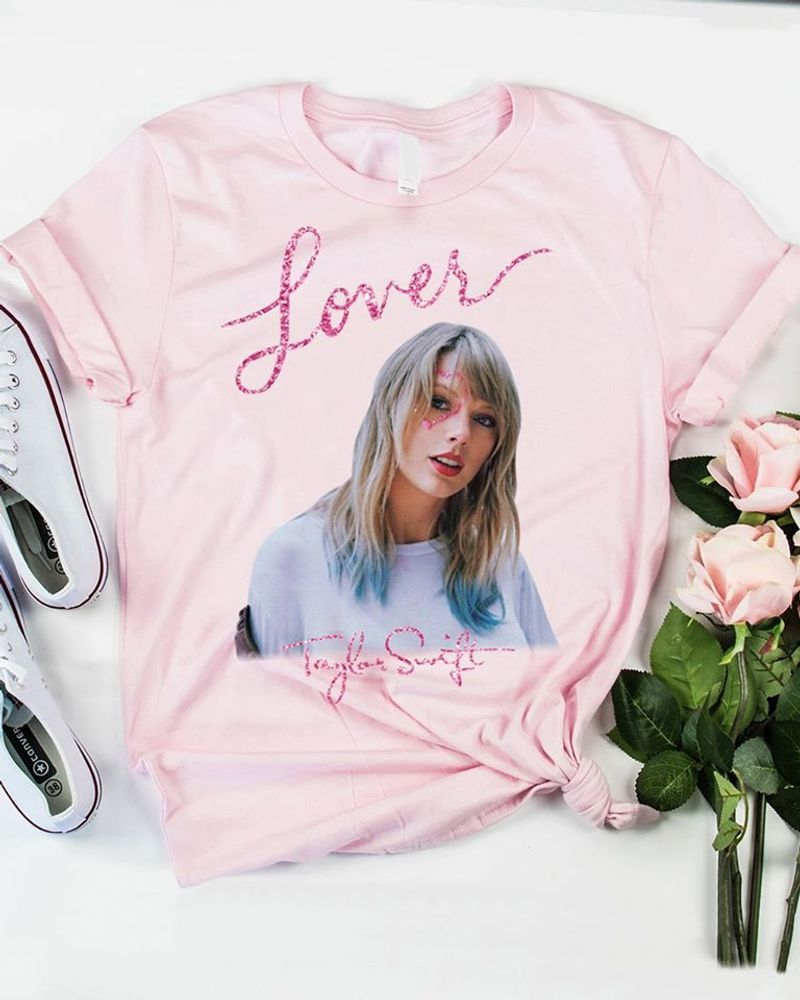 Lover Taylor Swift T-shirt Pink