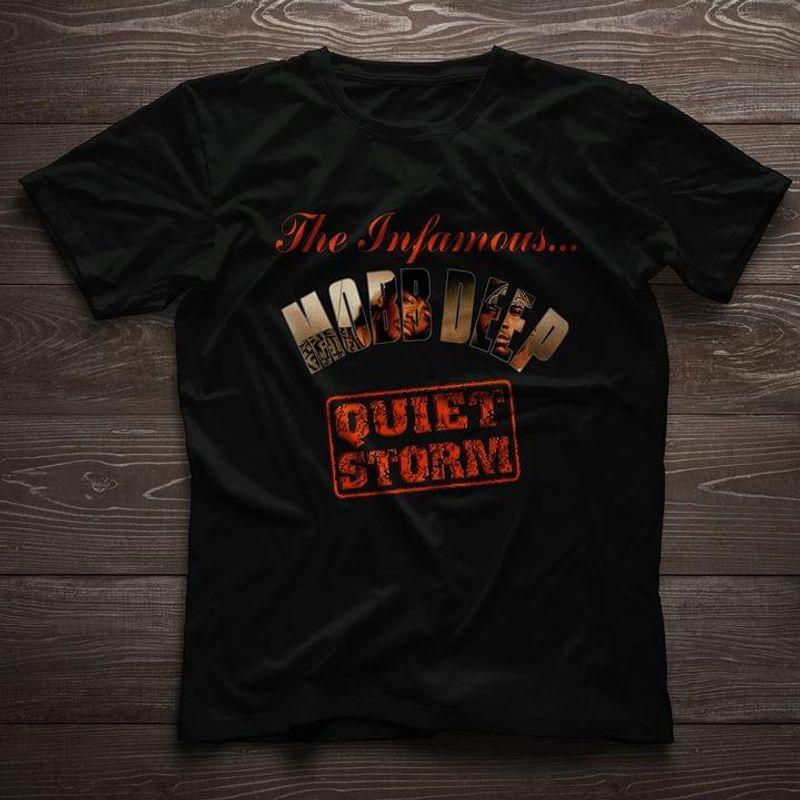 Lucky Store The Infamous Mobb Deep Quiet Storm Infamy Music Black T Shirt Men And Women S-6XL Cotton