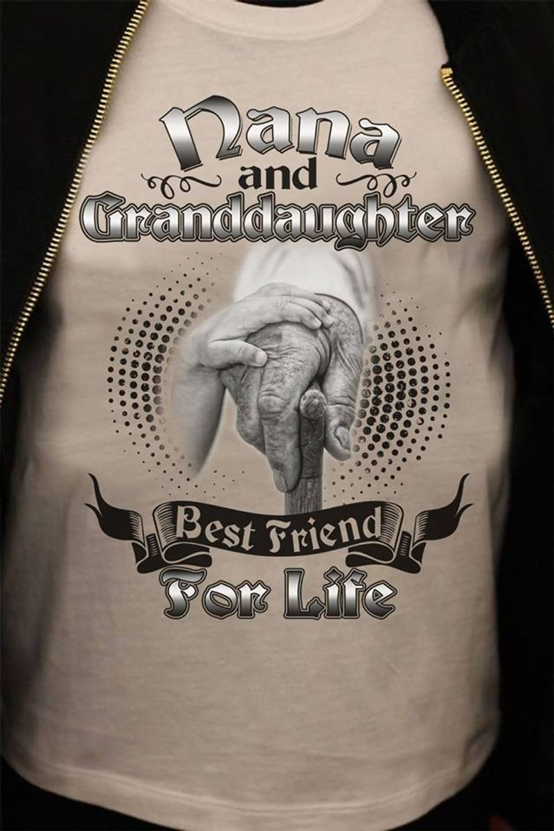 Mama And Granddaughter Best Friend For Life  T Shirt White A5