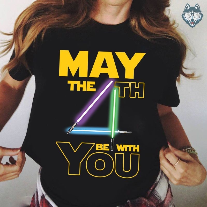 May The 4th Be With You T-shirt Black