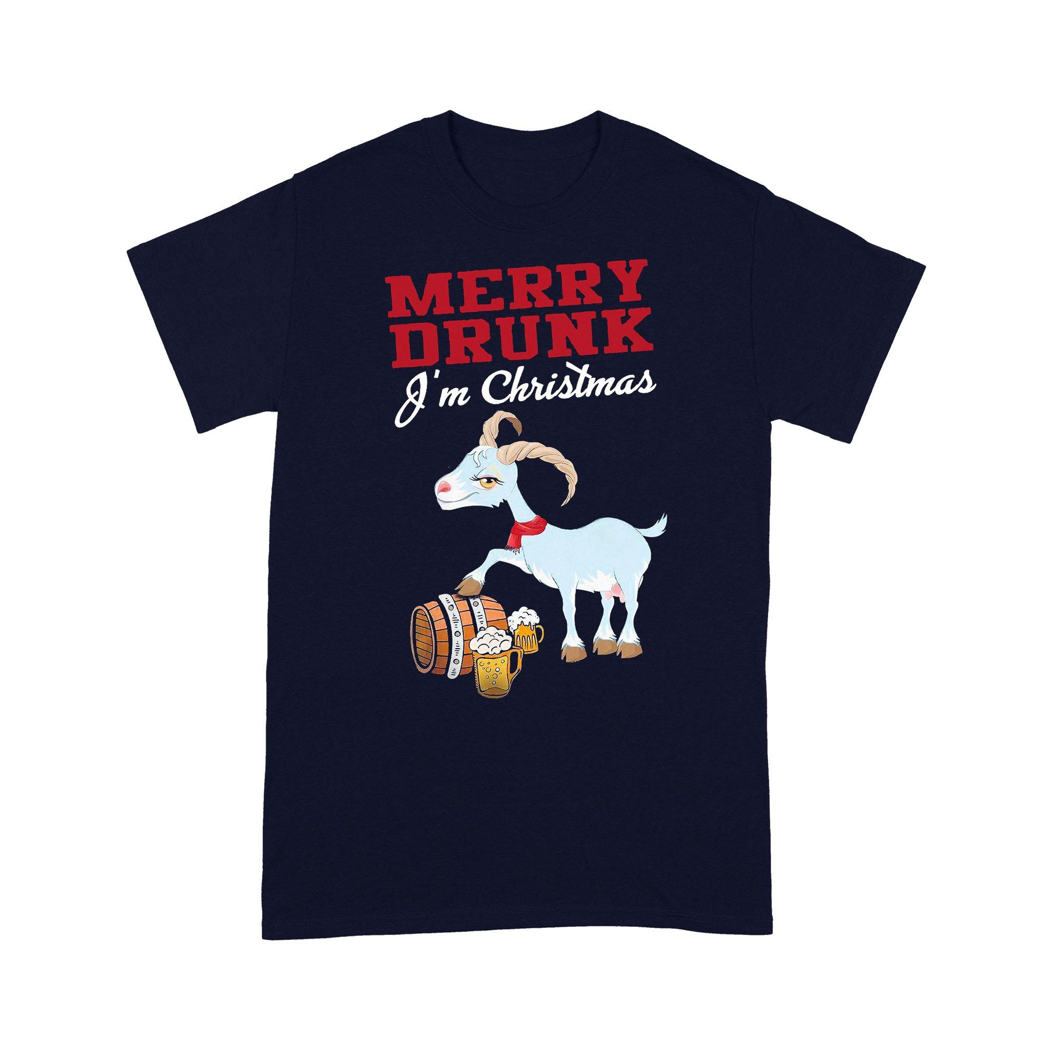 Merry Drunk I€™M Chirstmas T-shirt