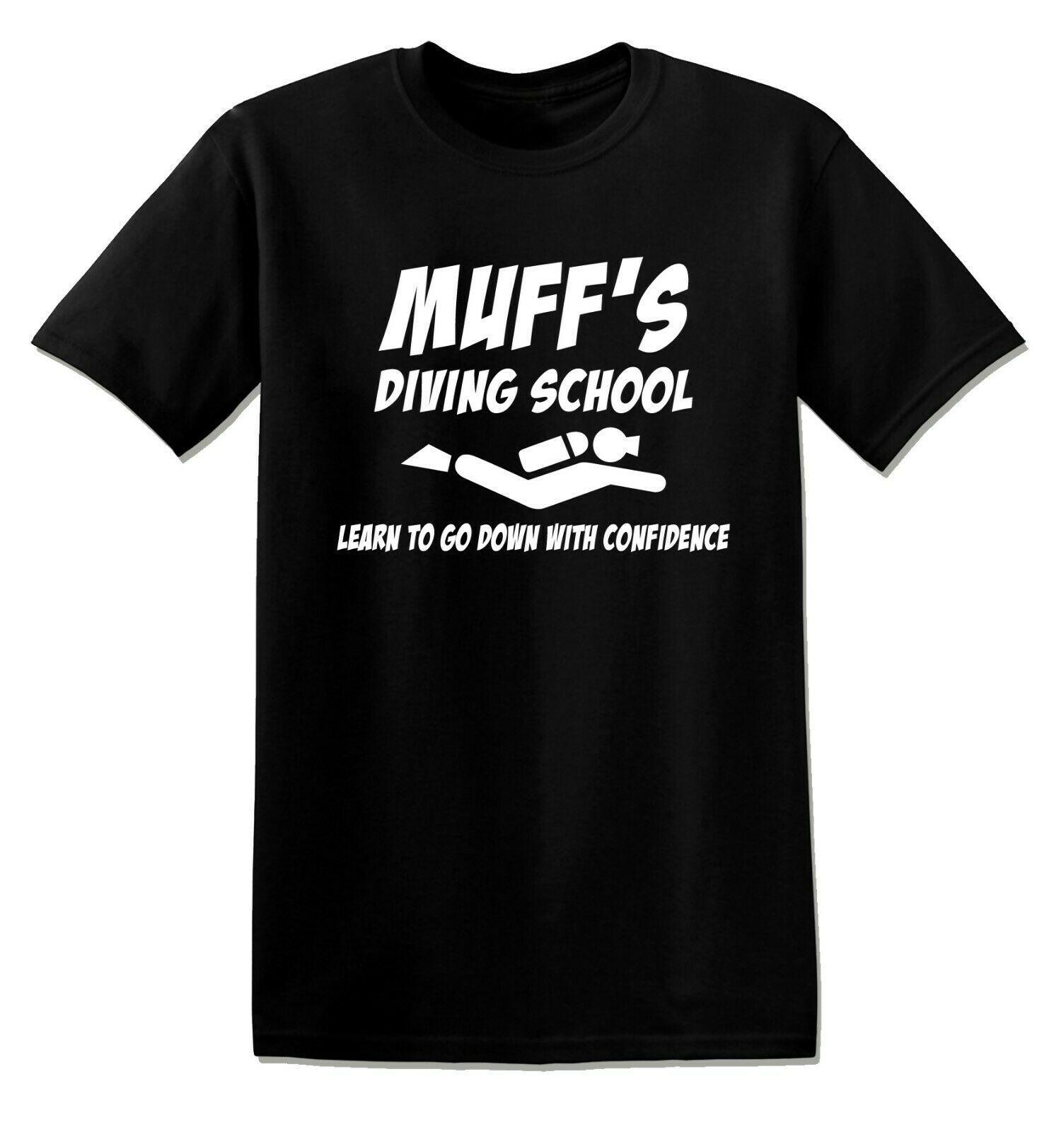 Muff Diving School Funny Offensive Rude Shirt T-shirt