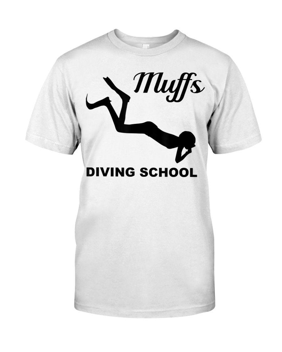 Muffs Diving School Shirt T-Shirt