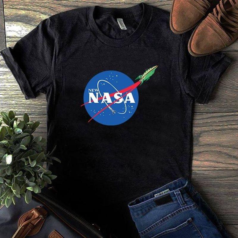 NASA Fans New NASA Anniversary Black T Shirt Men And Women S-6XL Cotton