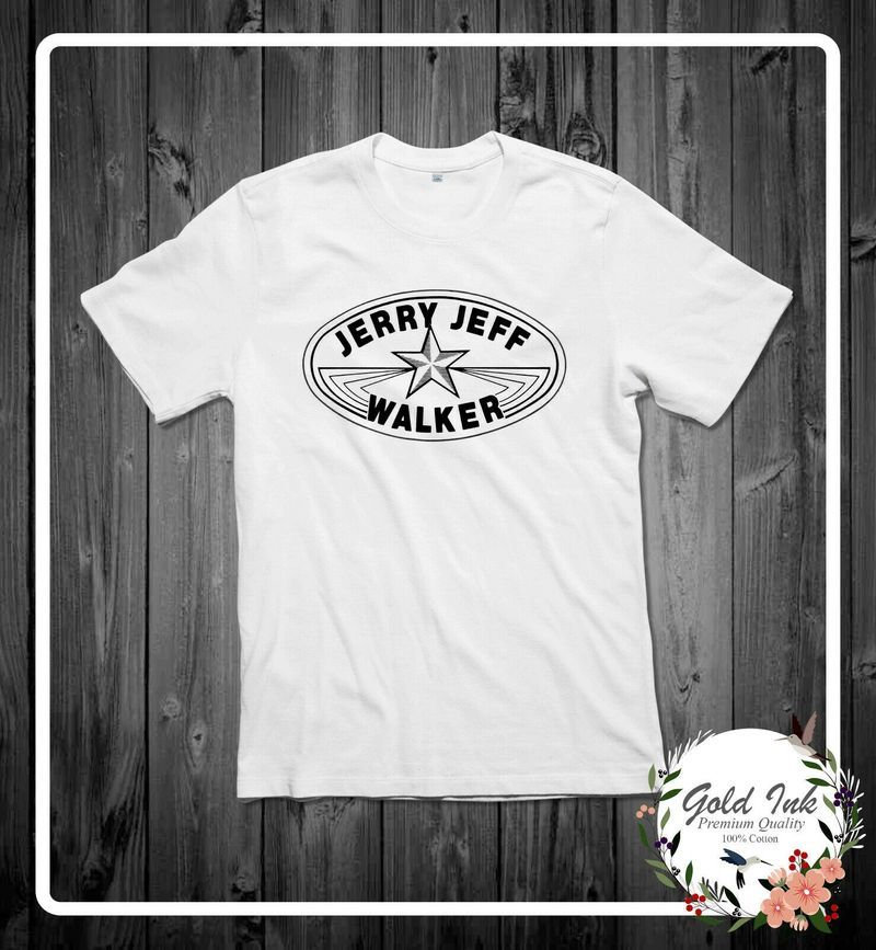 New Popular Jerry Jeff Walker Texas Bash Weekend Cotton T Shirt Mens And Womens Clothing S-6Xl