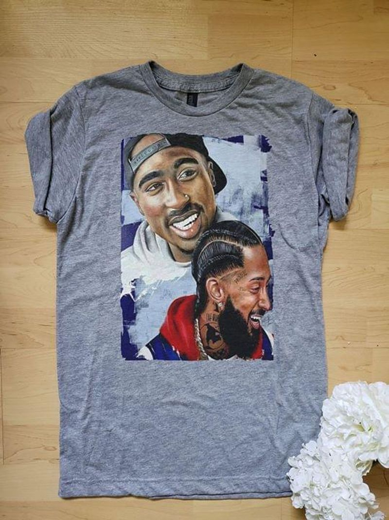 Nipsey Hussle Rapper Lovers American Hip Hop Music Grey Sport Grey T Shirt Men And Women S-6XL Cotton