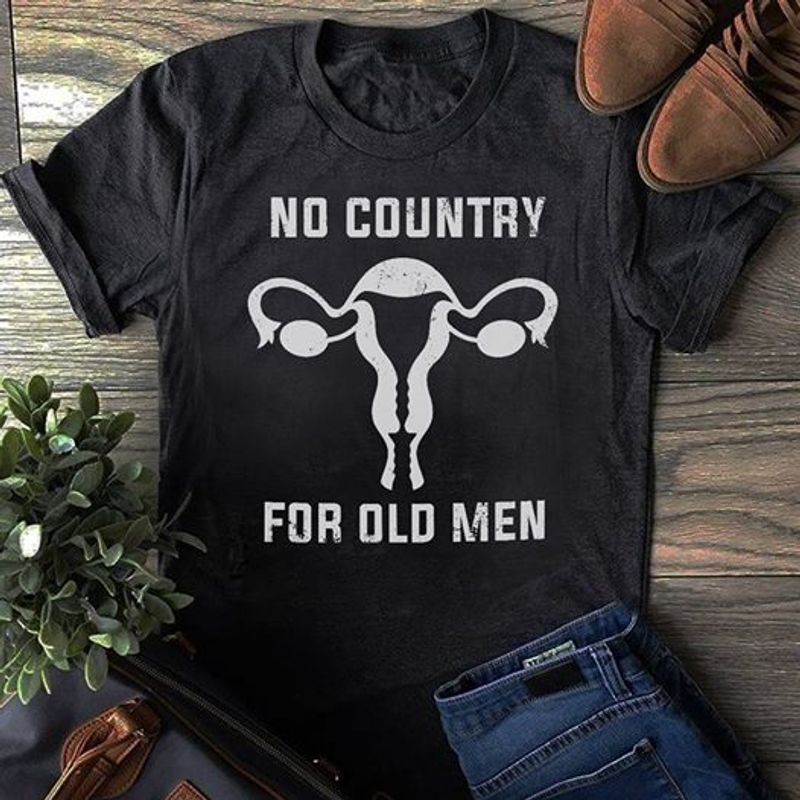No Country For Old Men T-Shirt Black B7