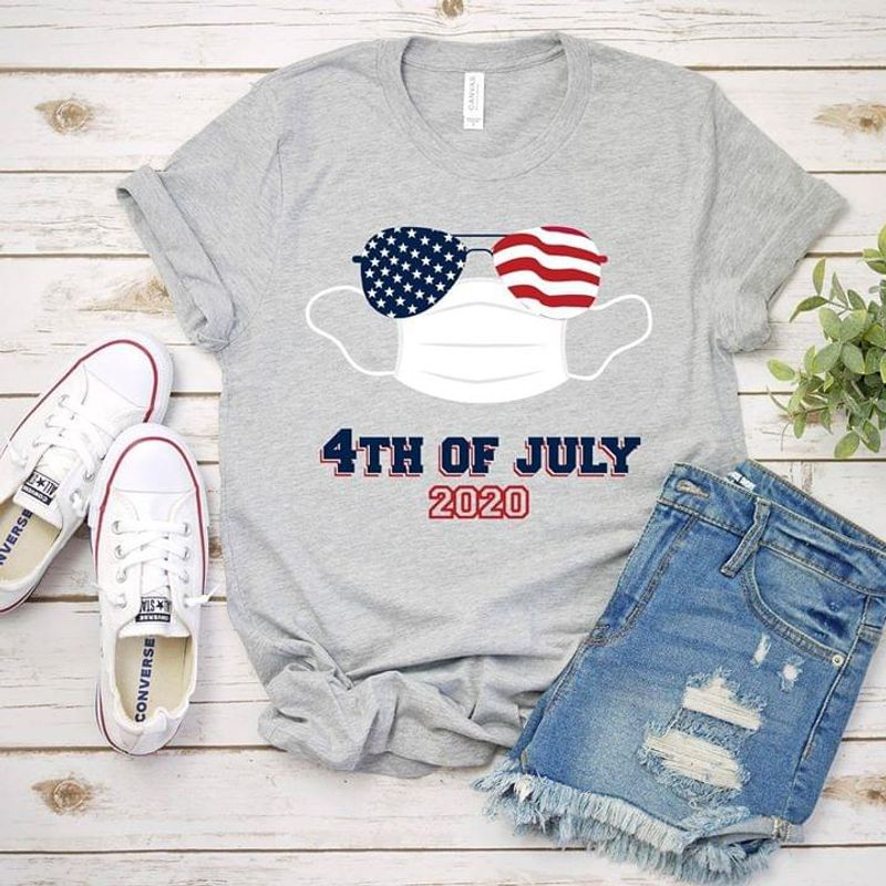 Peace Love America Independence Day 4th Of July Grey T Shirt Men/ Woman S-6XL Cotton