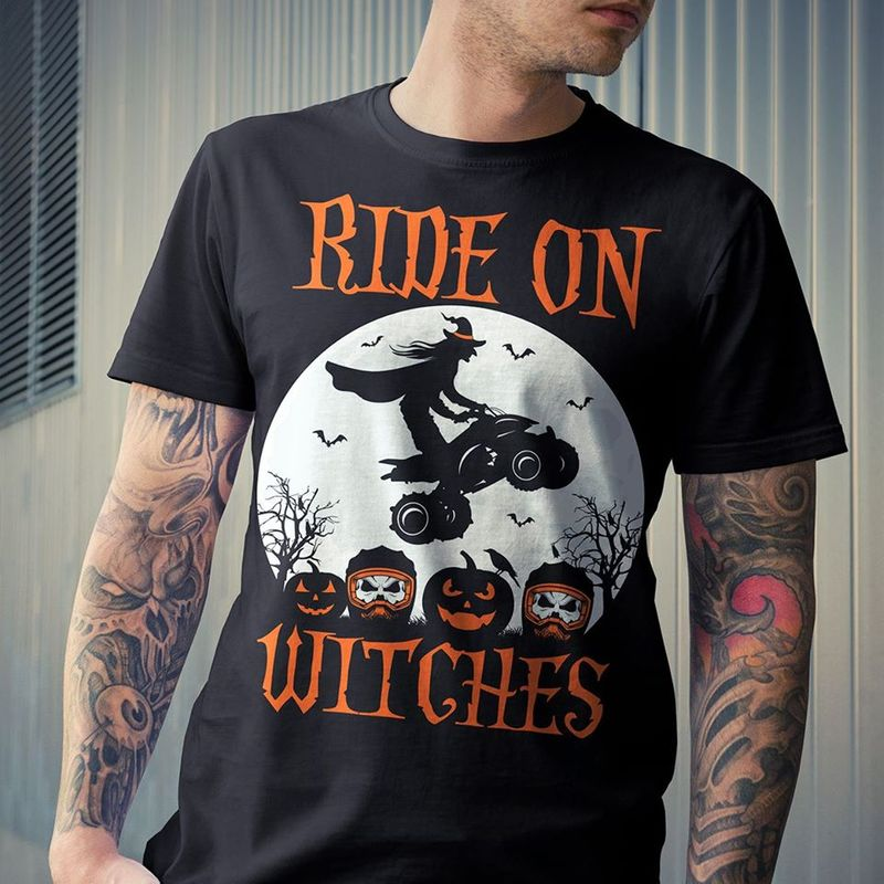 Ride On Witches T-shirt Black A8