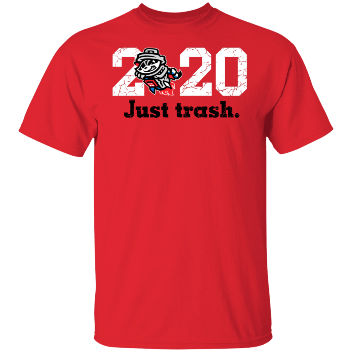 Rocket City 2020 Just Trash Pandas Shirt