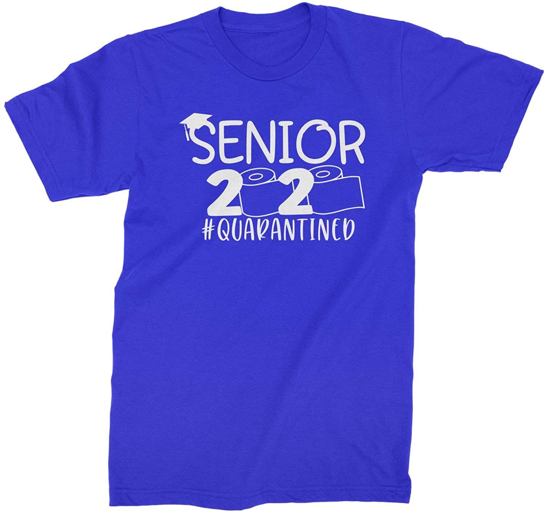 Seniors 2020 Quarantined Toilet Paper Men Women Youth T-Shirt