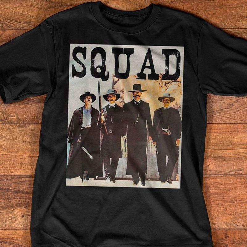Squad Tombstone T-shirt Black
