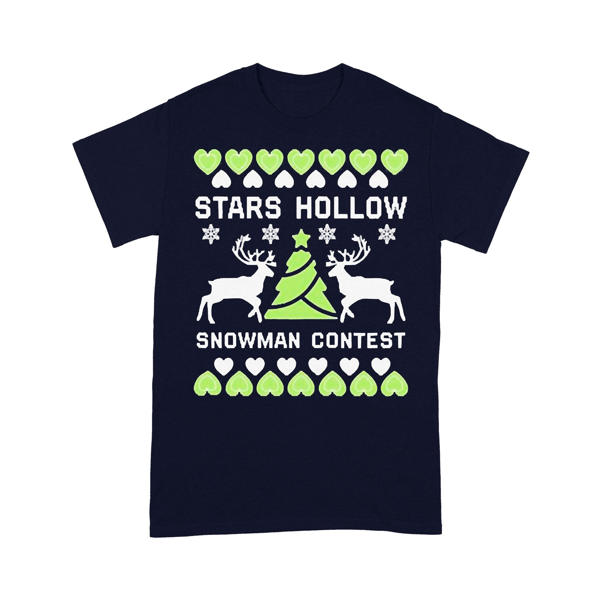 Stars Hollow Snowman Contest Christmas T-shirt