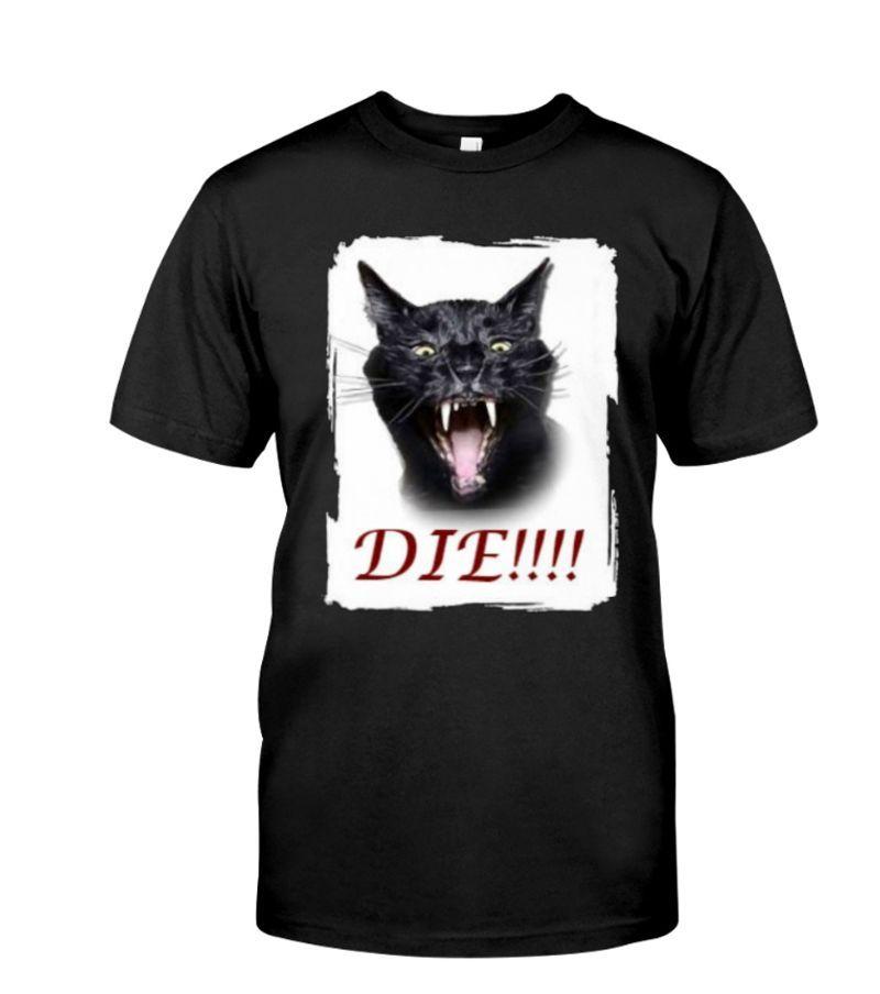 Sylvester Talking Cat Die T-Shirt Black