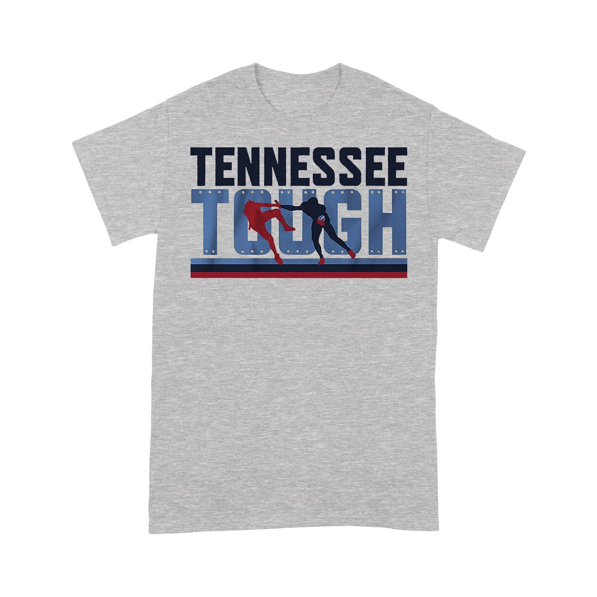 Tennessee Tough Nashville Football T-shirt