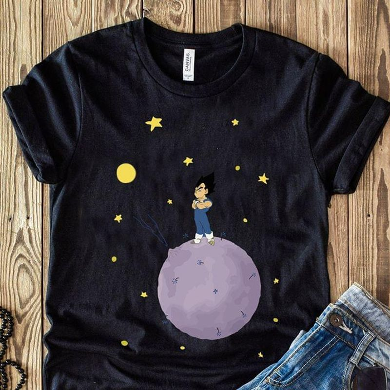 The Dragon Ball Son Gohan On The Planet Best Gift For Dragon Ball Fan Black T Shirt Men And Women S-6XL Cotton