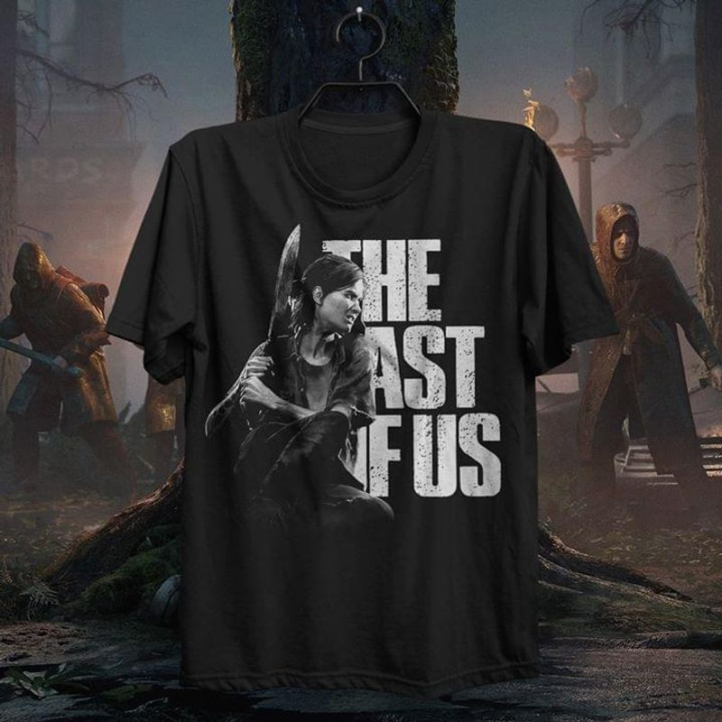 The Last Of Us II Ellie T Shirt S-6XL Men And Women Clothing