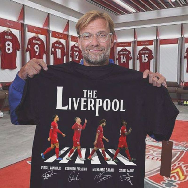 The Liverpool T-shirt Black A2
