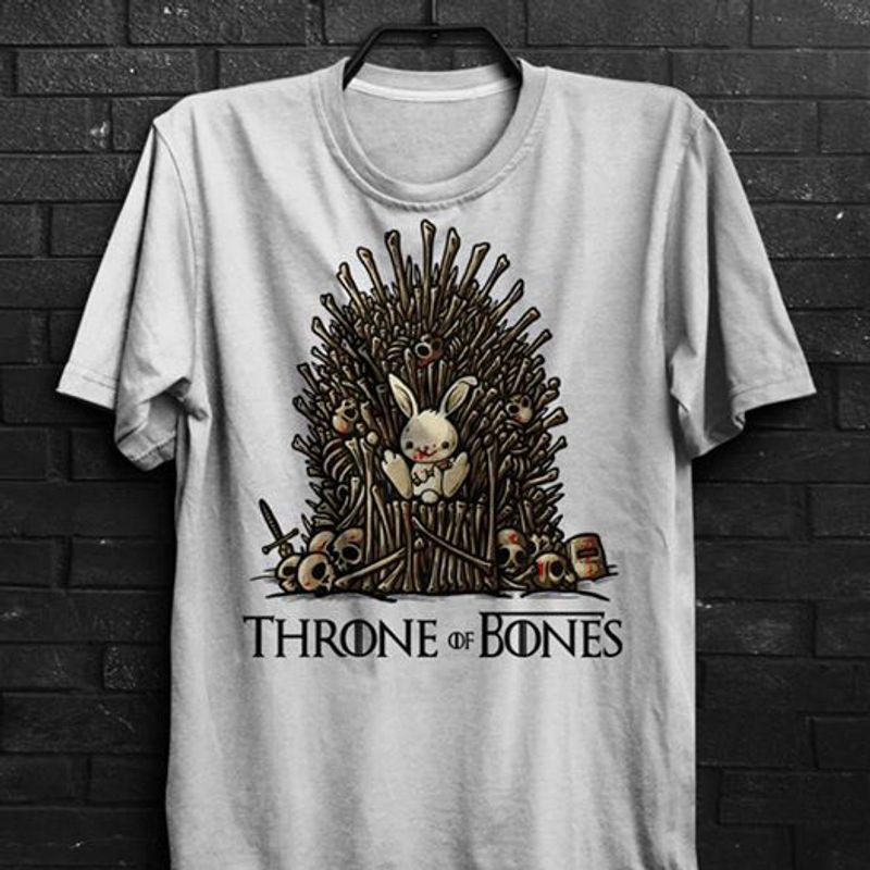 Throne Of Bones  T Shirt White B1