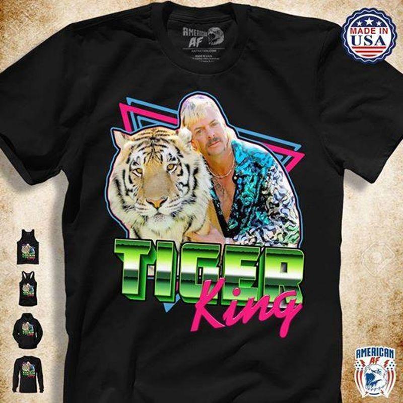 Tiger King T Shirt Black