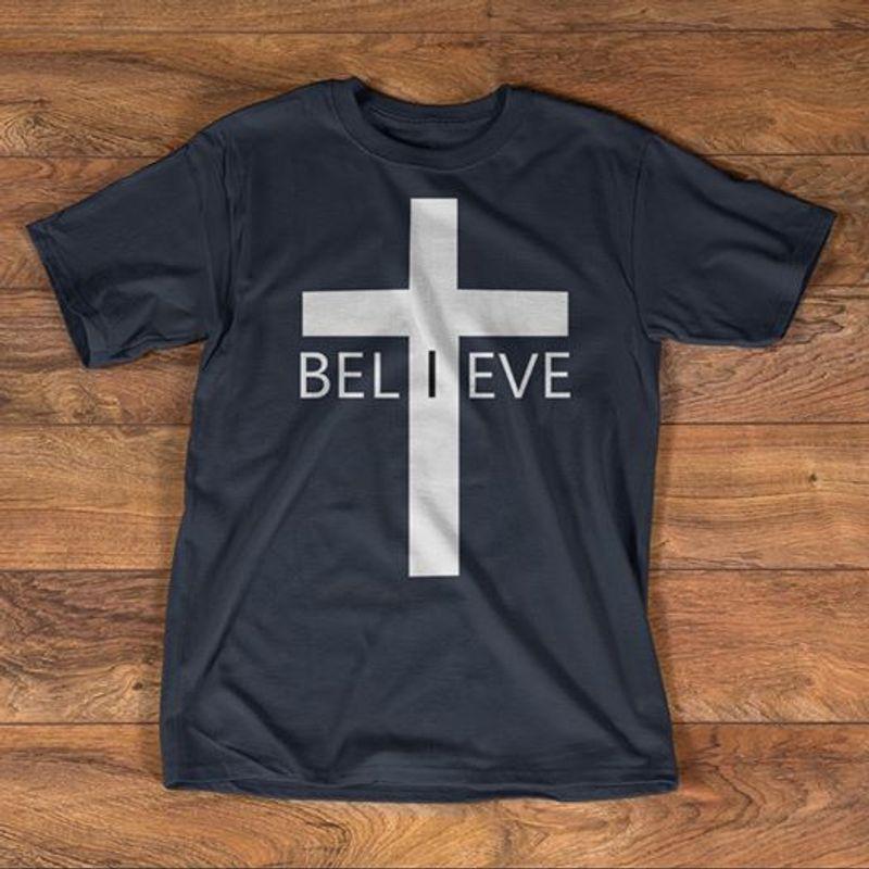 Tshirt Believe Tshirt Black A2
