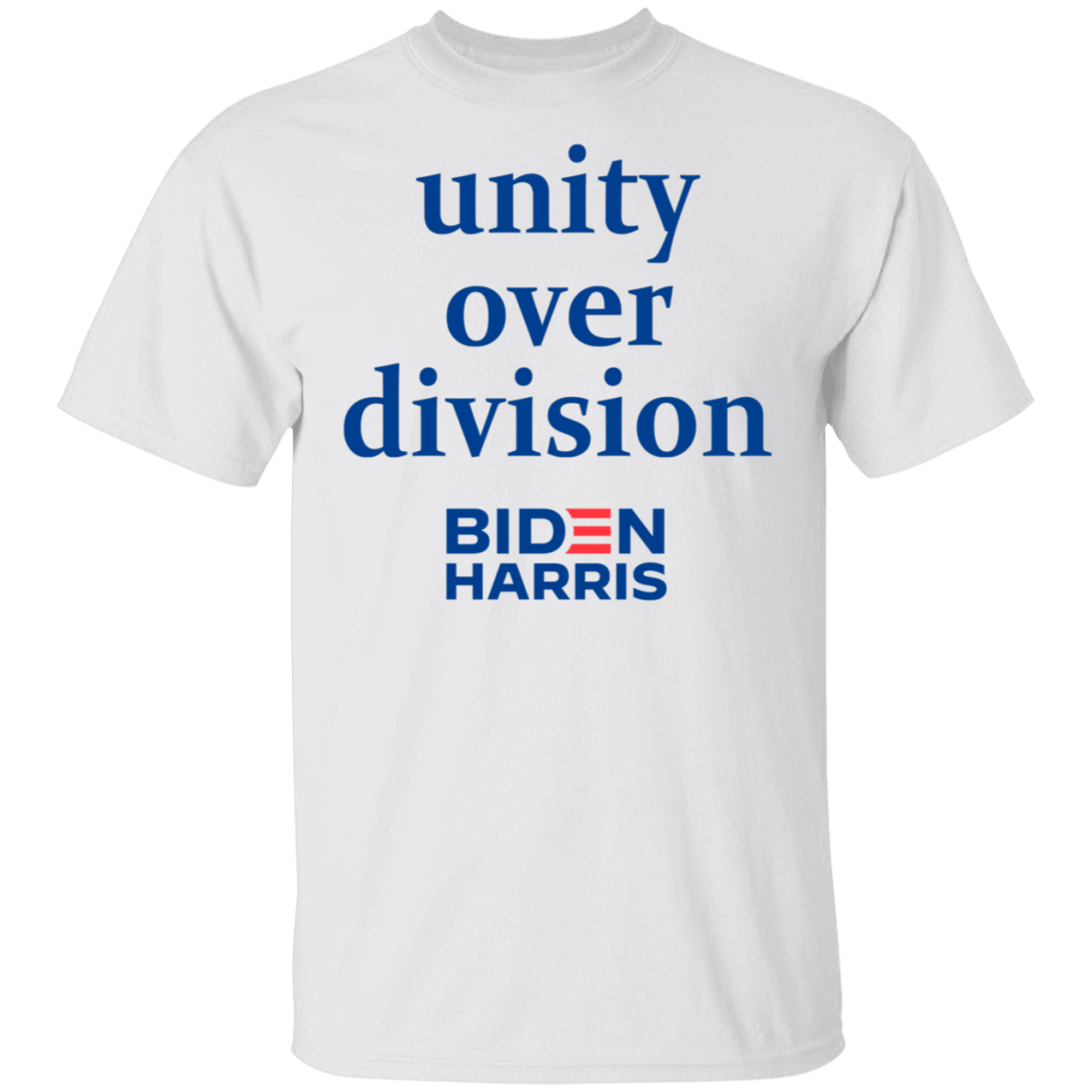 Unity Over Division Biden For President Shirt