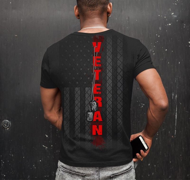 Veteran T-Shirt Black A2