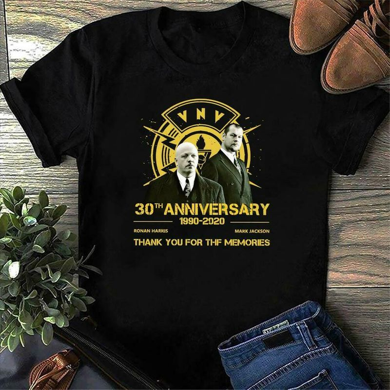 Vnv Band Picture 30Th Anniversary Thank You For The Memories Music Love Black T Shirt Men And Women S-6XL Cotton