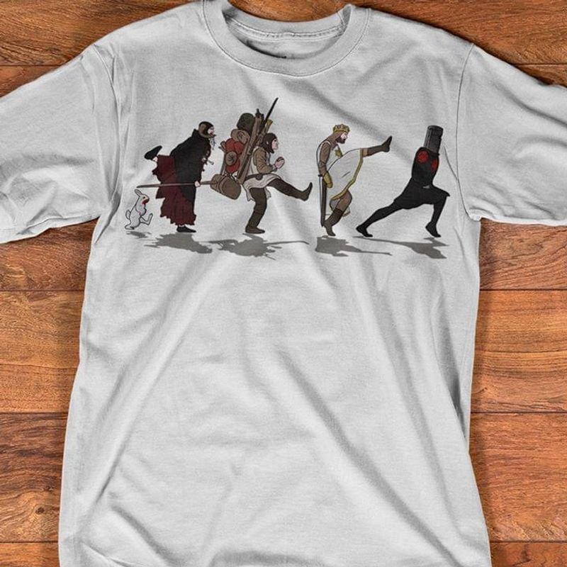 Walking Towards The Grail T Shirt S-6XL Mens And Women Clothing