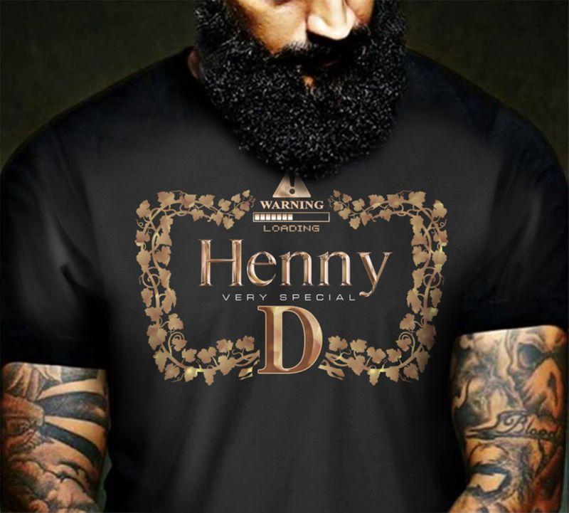 Warning Loading Henny Very Special  T-shirt Black B7