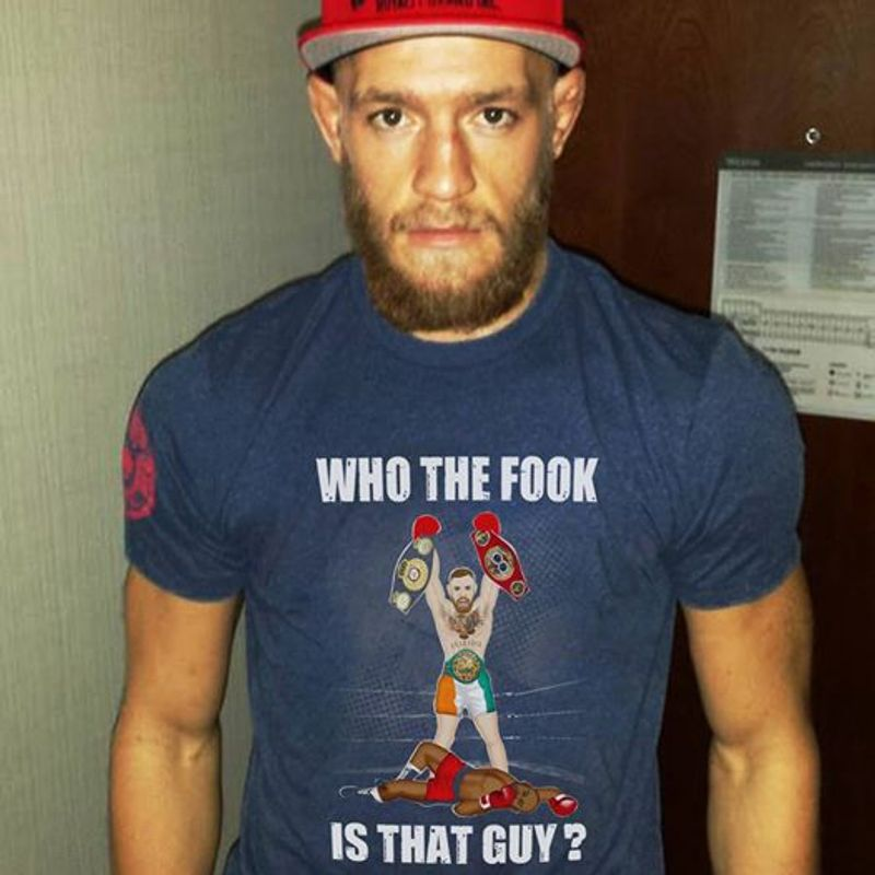 Who The Fook Is That Guy T-SHIRT NAVY COLOR A2